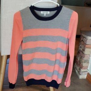 Lightweight striped sweater, size S, never worn
